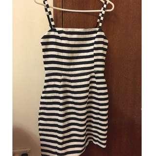 Staple the Label Stripe Dress