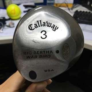 Callaway 3 Big Bertha War Bird Left Hand