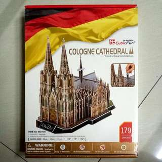 3D Puzzle: Cologne Cathedral