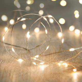 2M Fairy Lights - Battery-operated