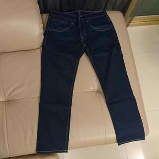 Levis 511 男 直筒 牛仔褲 (僅試穿,未下過水)
