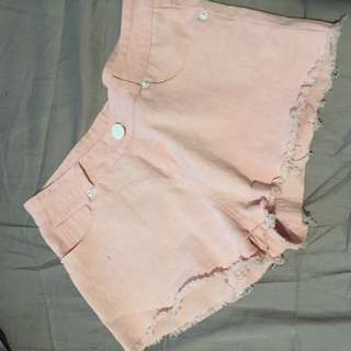 Pastel Pink Shorts
