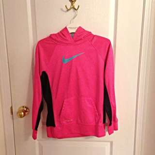 Pink Nike Therma-fit Sweatshirt