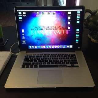 """2014 Mac Book Pro- 15"""""""