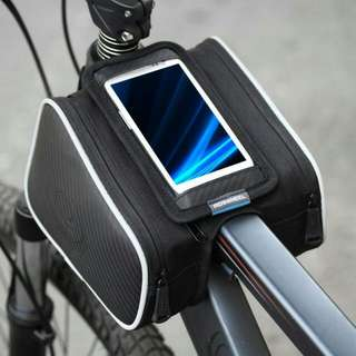 [Sold] Roswheel Cycling Bicycle Phone Pouch Double Bag