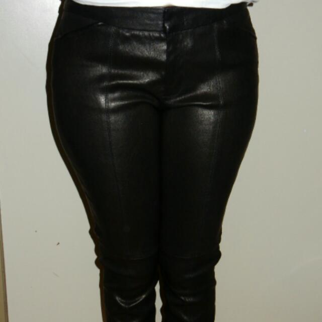 A.L.C. Real Leather Pants