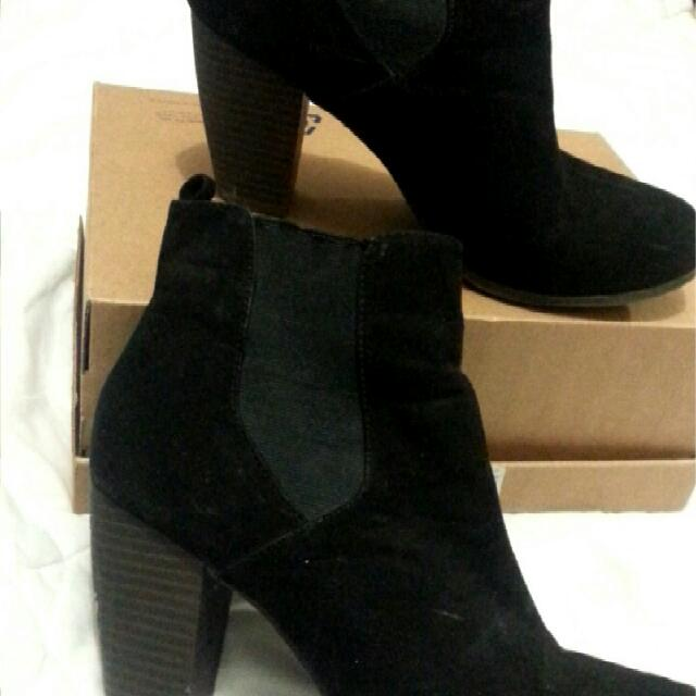 Ankle Black Boots