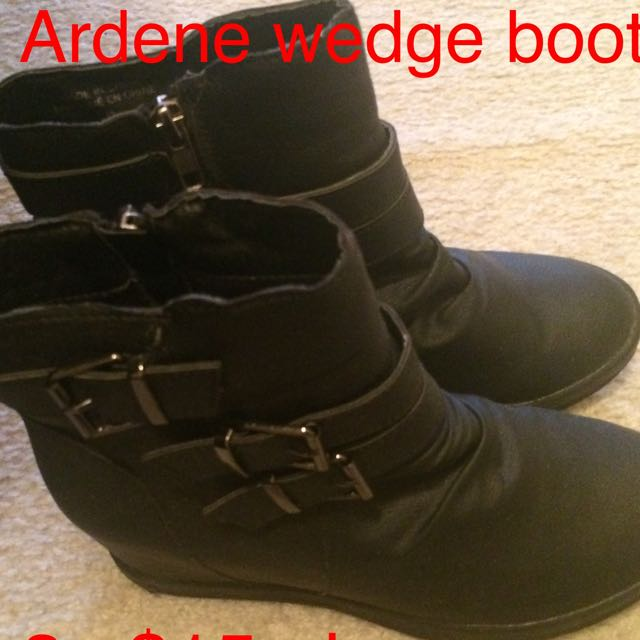 Ardene Wedge Booties