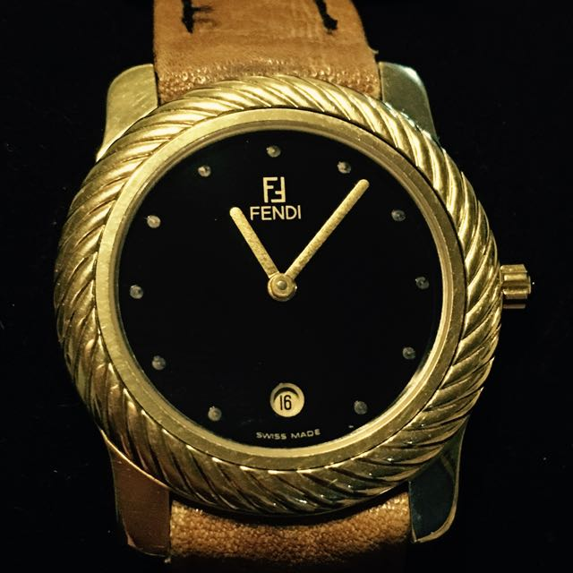 Authentic FENDI Multi Bezel Date Watch ~ Designer ~ Swiss Made
