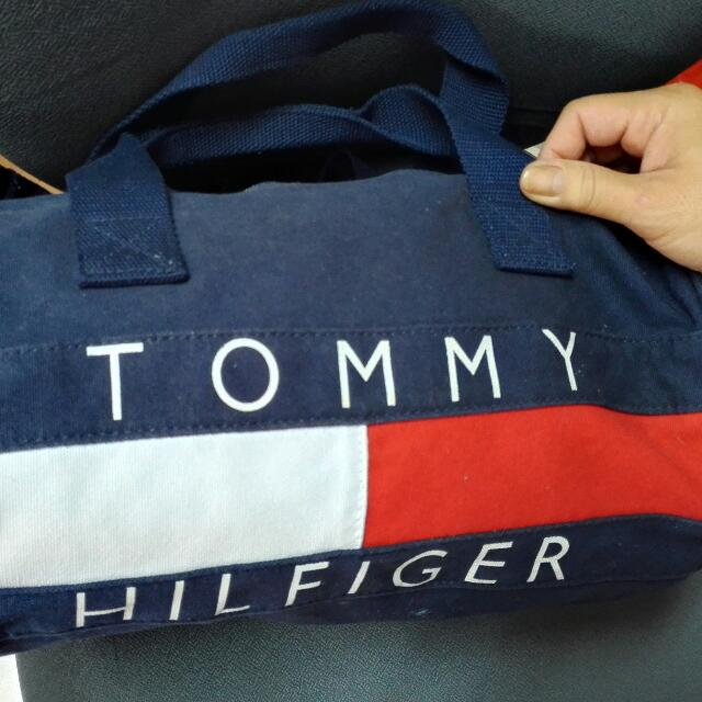 Authentic Tommy Hilfiger canvas Bag