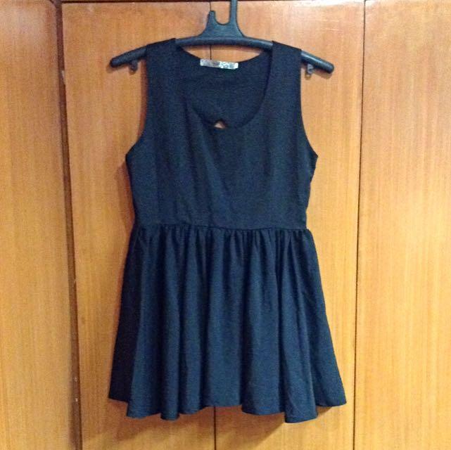 Betty SM GTW Black Cut Out Dress