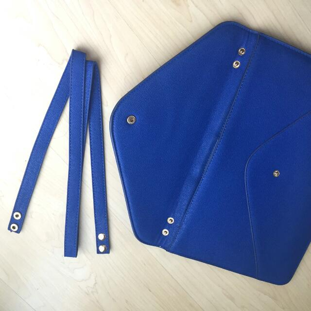 Blue Clutch by Avenue
