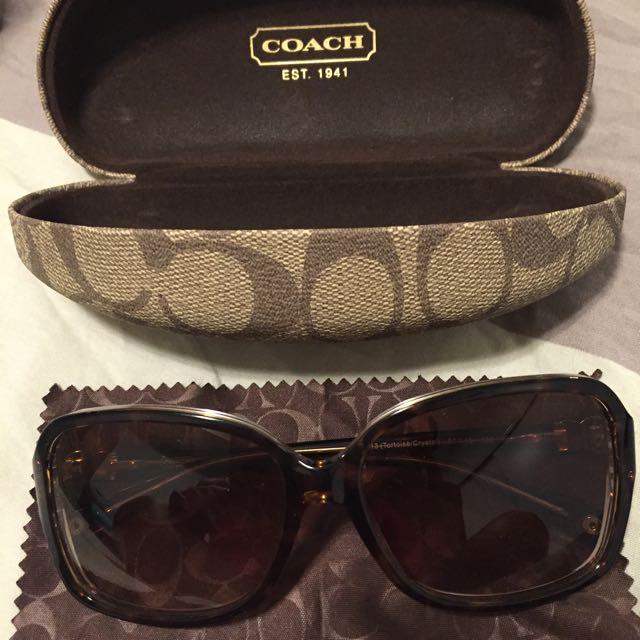 Brand New Coach Sunglasses