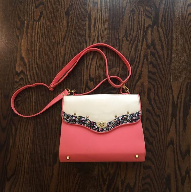 Floral Side Bag