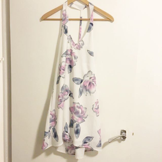 Formal Floral Dress Size S
