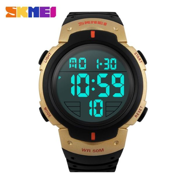 Jam tangan SKMEI Pioneer LED Digital Waterproof 50m - DG1068