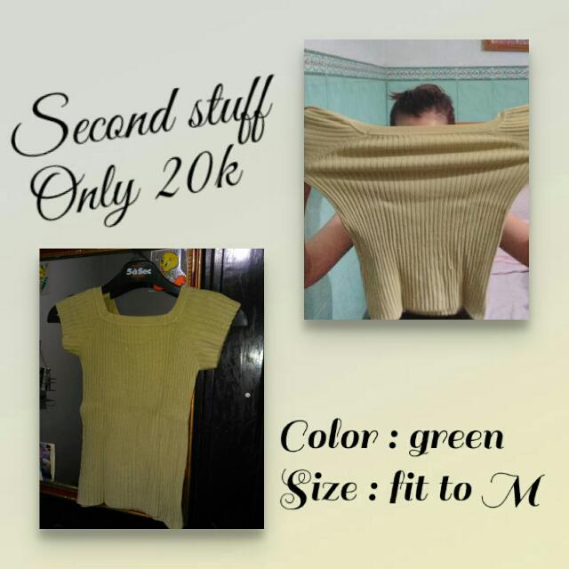 Kaos Bahan Knit Adem Melar