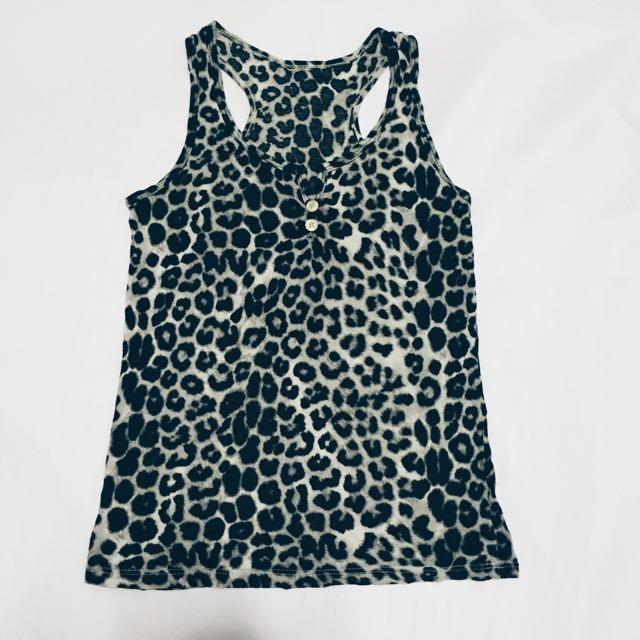 Leopard Print Tank Top