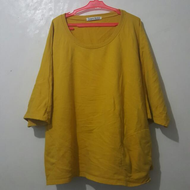 Loose Yellow Shirt