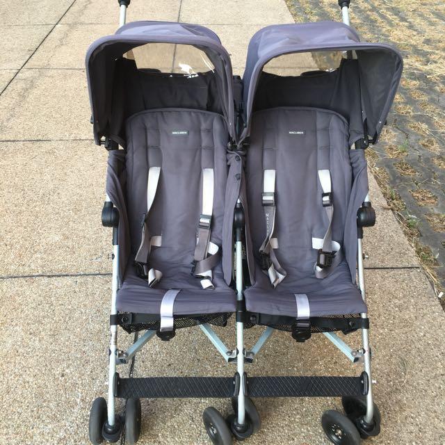 二手Maclaren瑪格羅蘭雙胞胎推車 /雙人推車