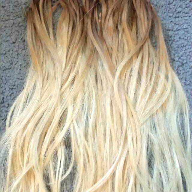 PRICE DROP! Micro Bead Real Hair Extensions