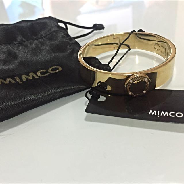 Mimco Gold Bangle