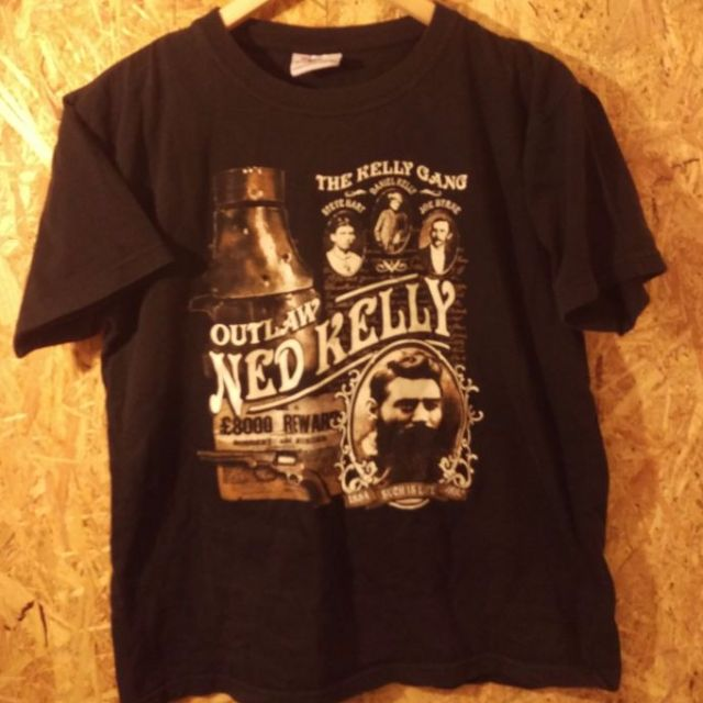 Ned Kelly gang t shirt. S