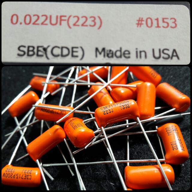 Orange Drop 0.022uf