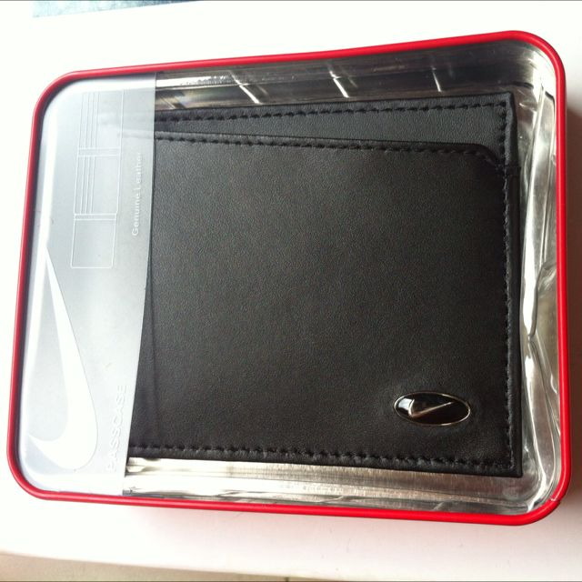 Original Nike Leather wallet - black