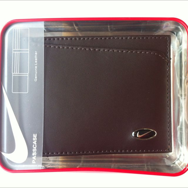 Original Nike Leather Wallet - Brown