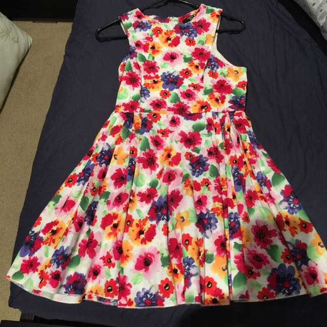 Paperheart Size 8 Floral Dress