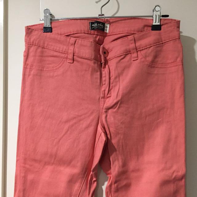 Peach Jeans