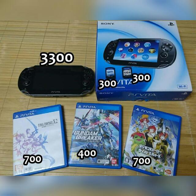 PSVITA1007主機+5款遊戲