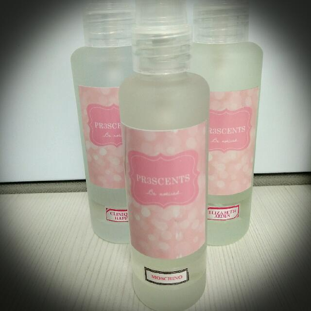 Pr3scents - 100ml for 360 pesos only!
