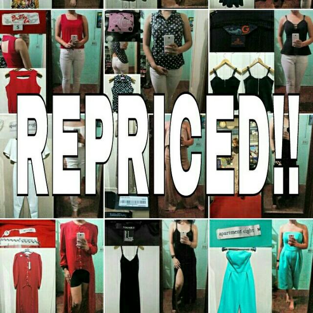 Repriced All Items!