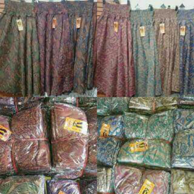Rok Batik Bahan Katun