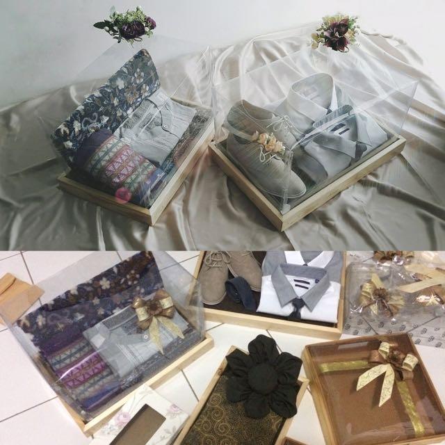 Kotak Seserahan / Frame Kayu