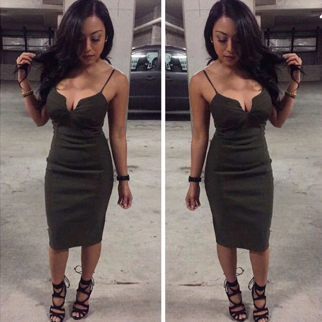Sheike Khaki Dress