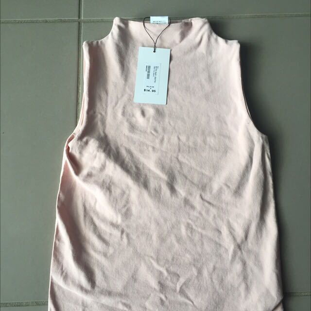 Size Small Tight Pink Nude Top