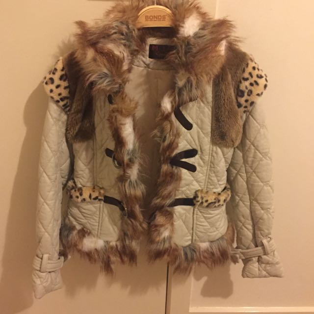 Stylish Fur Jacket
