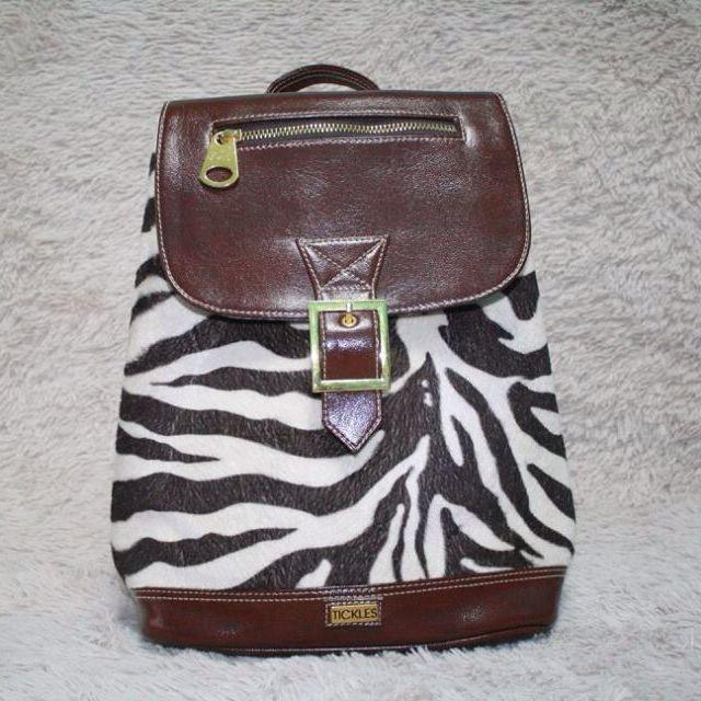 Tickles Zebra Bag