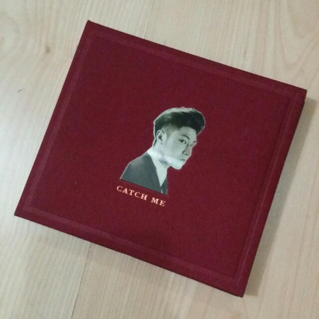 TVXQ Catch Me Album With Poster