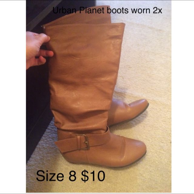 Urban Planet Boots