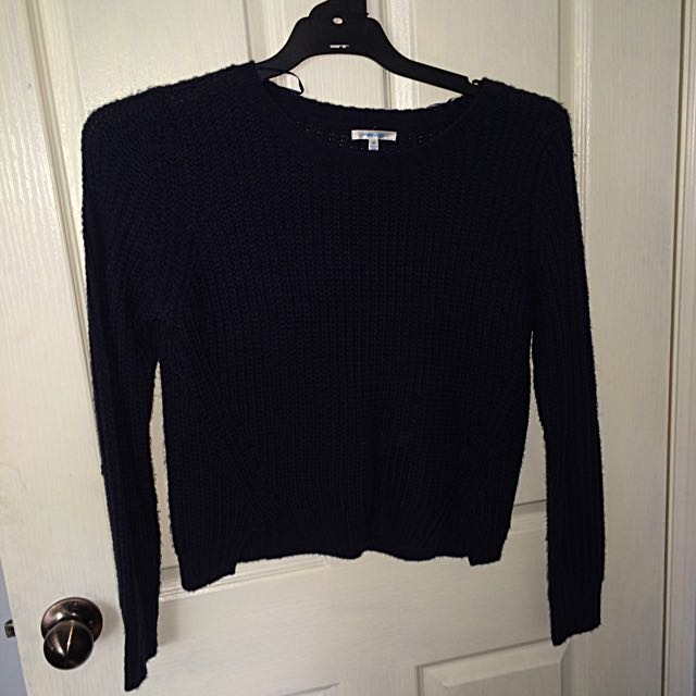 VALLEYGIRL NAVY KNIT