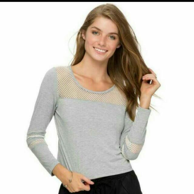 Zalora Grey Sleeves