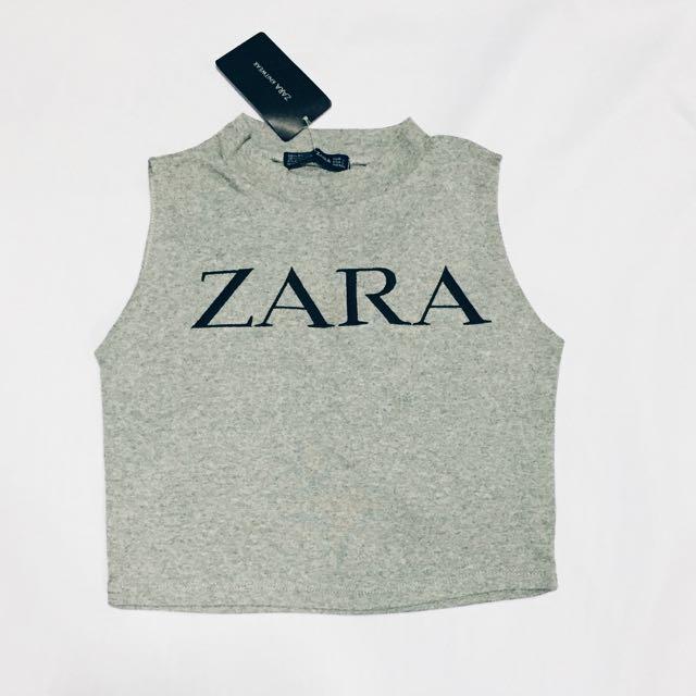 Zara Turtle Neck Crop Top