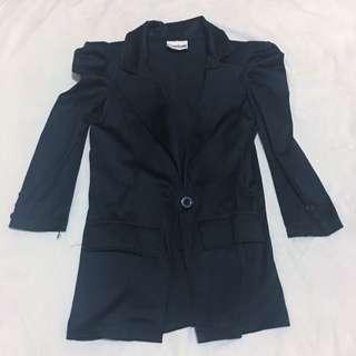 I Dress Structured Black Blazer