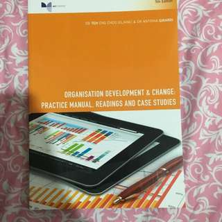 Organisational Development Case Study Book 5th Edition