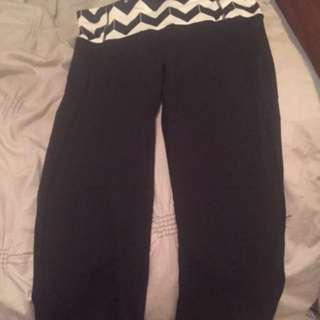Lululemon Capris And Wunderunders Size 6.    30 For Capris And 60 For The Wunderunders
