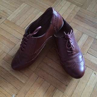 👟 | ✨REDUCED✨Brown Oxfords
